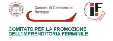 Logo CAmera di Commercio e Comitato Imprenditoria Femminile