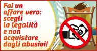 Campagna 2014 contro abusivismo commerciale