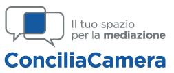 Logo Conciliacamera - il servizio di conciliazione delle camere di commercio - www.conciliacamera.it