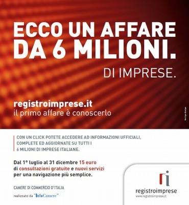 Banner promozione Registro Imprese