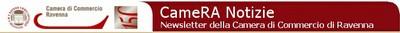 Testata newsletter CCIAA Ravenna