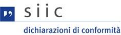Logo SIIC - Dichiarazioni di conformità