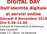 DIGITAL DAY Dall'identità digitale ai servizi online 8 Novembre 2018 - PID