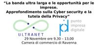 Progetto ULTRANET banda ultralarga e le opportunita per le imprese 29 Novembre 2018 - PID