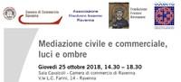 Convegno: Mediazione civile e commerciale, luci e ombre
