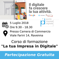 Evento Google Digital Training 5 Luglio - PID